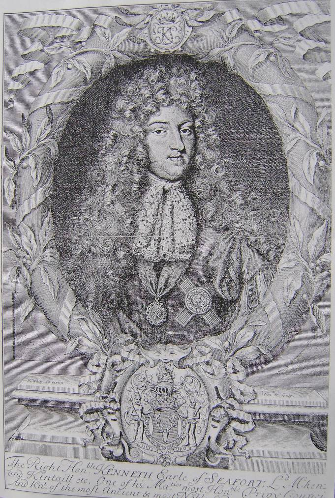 Kenneth MacKenzie 4th Earl and 1st Jacobite Marquis of Seaforth