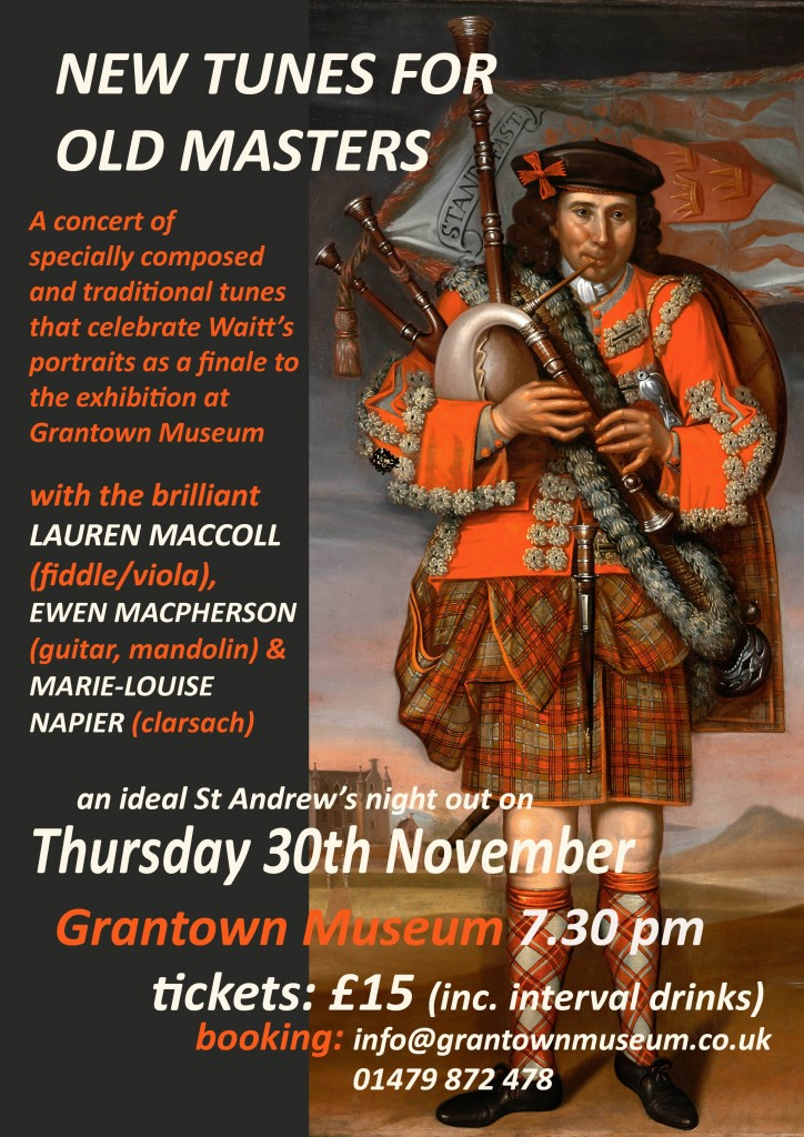 Flyer for Grantown Museum Concert